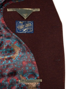 red stitching