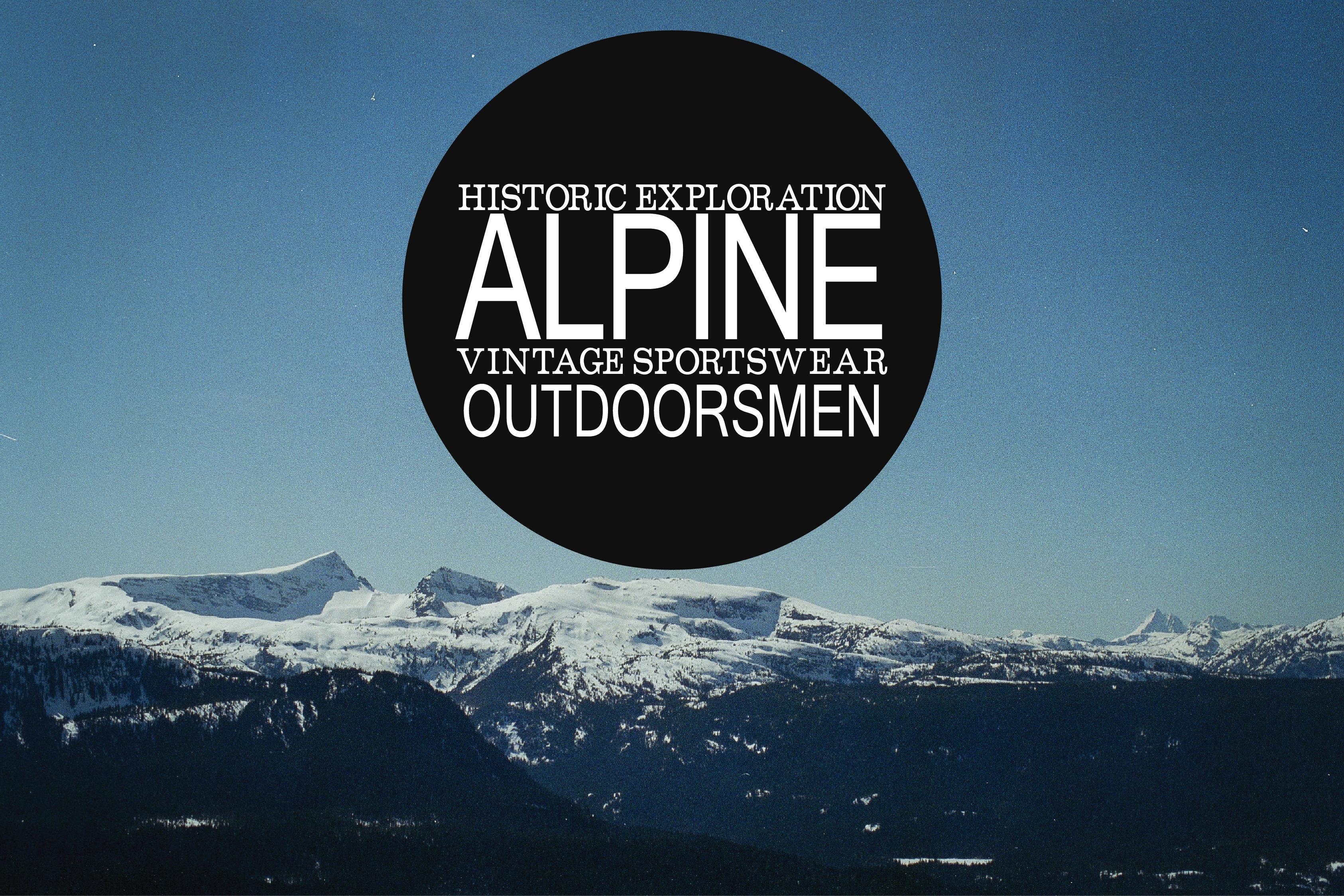 Alpine Inspiration Board - mountains