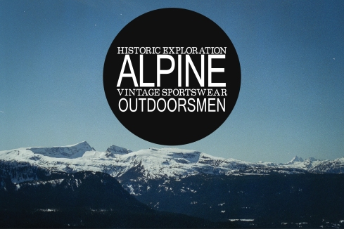 Alpine Inspiration Board - mountains