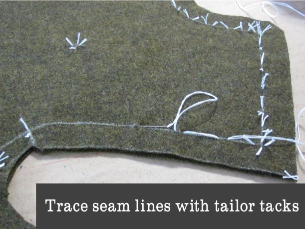 tailor tacks