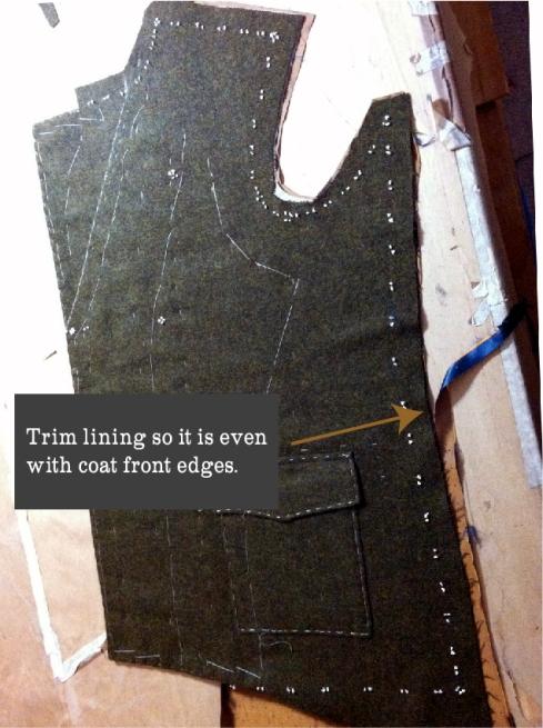 Trim lining