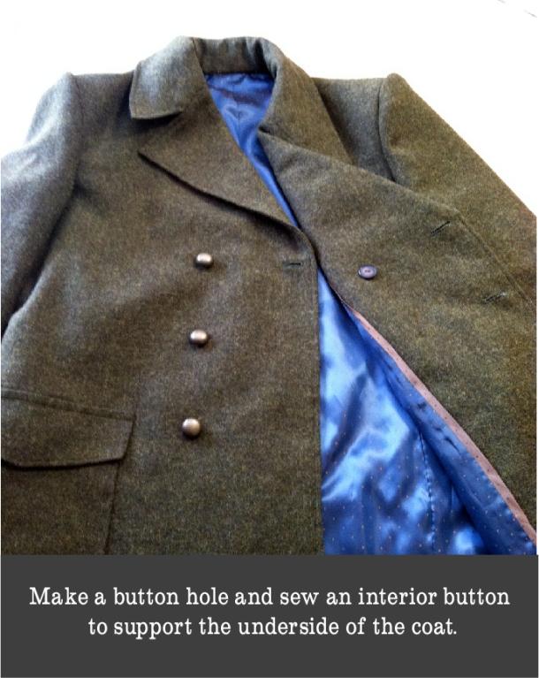 underside button