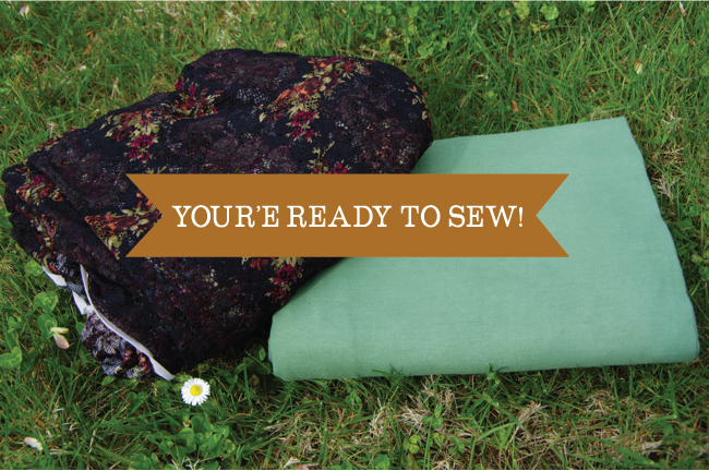 Dyeing - you're ready to sew!
