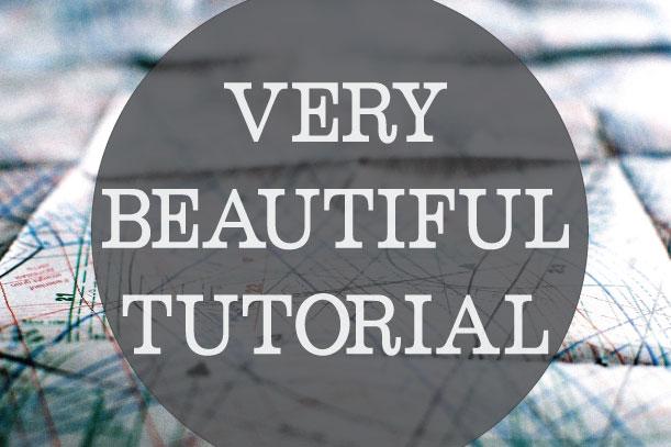 Beautiful-tutorial