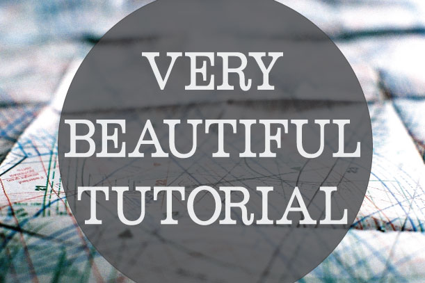 Beautiful-tutorial