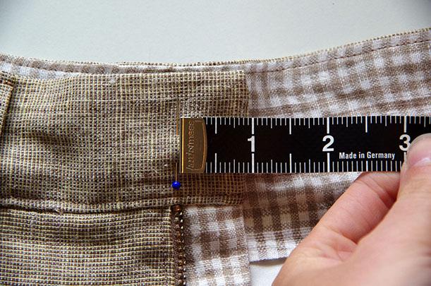 button - measure
