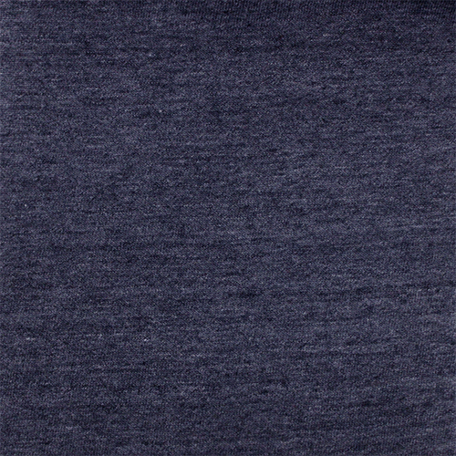 Denim Blue Heather Solid Cotton Jersey Tri Blend
