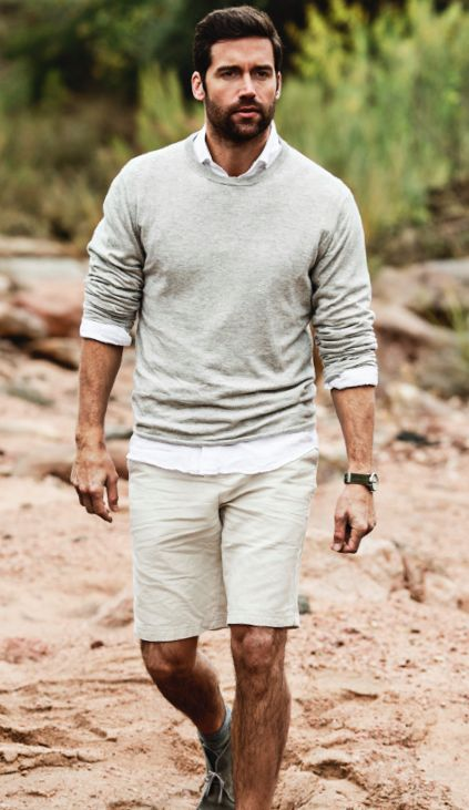 linen shorts - casual