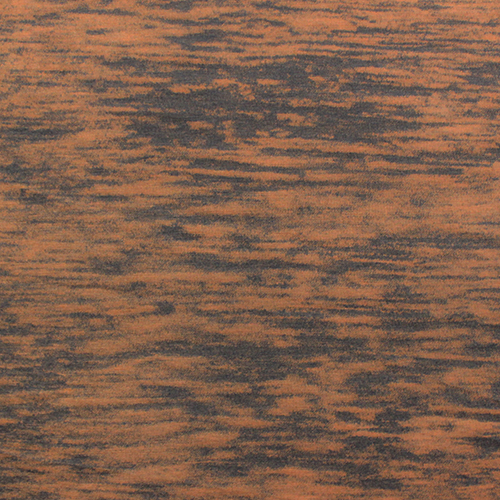 Orange Gray Solid Burnout Cotton Jersey