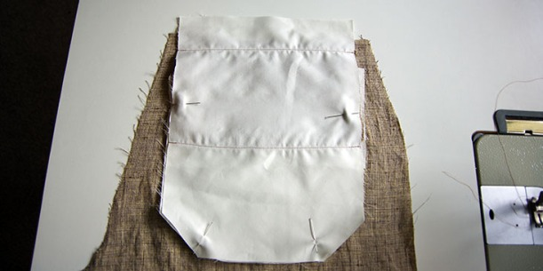 Pin pocket to pocket lining