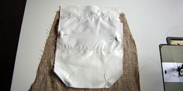 Pin pocket to pocket lining