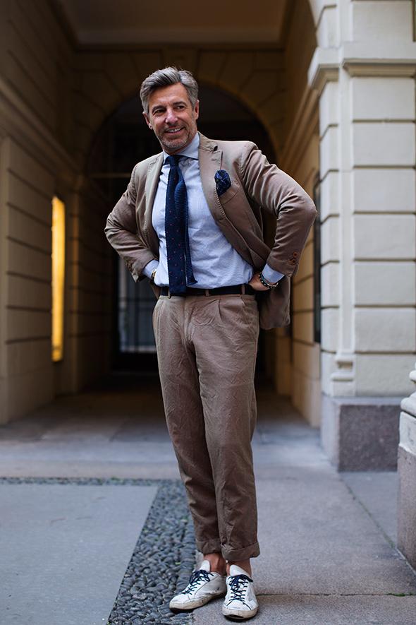 sartorialist summer suit
