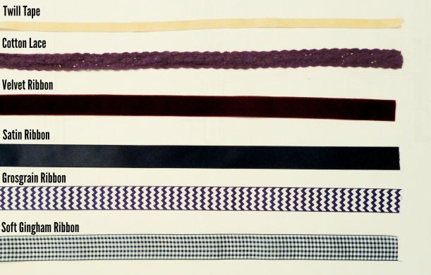 Ribbon types