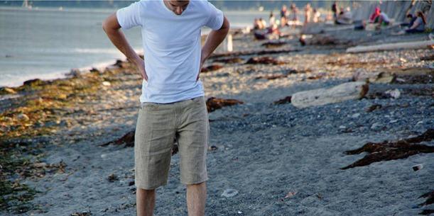 shorts beach scene
