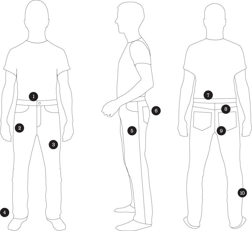 Fitting Diagram