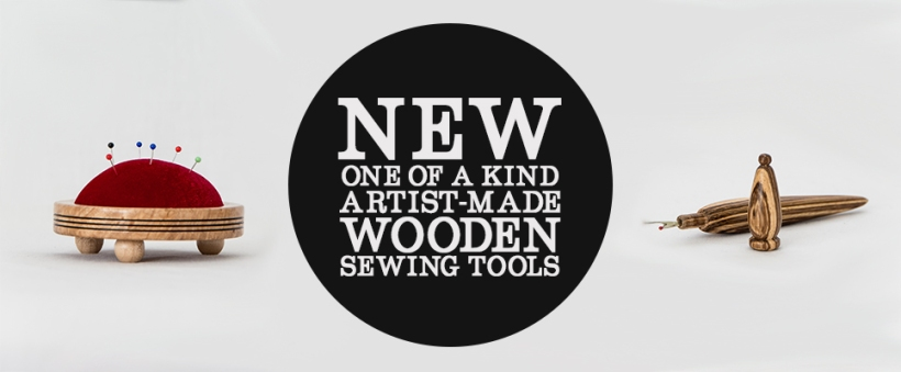 Wooden Sewing Tools