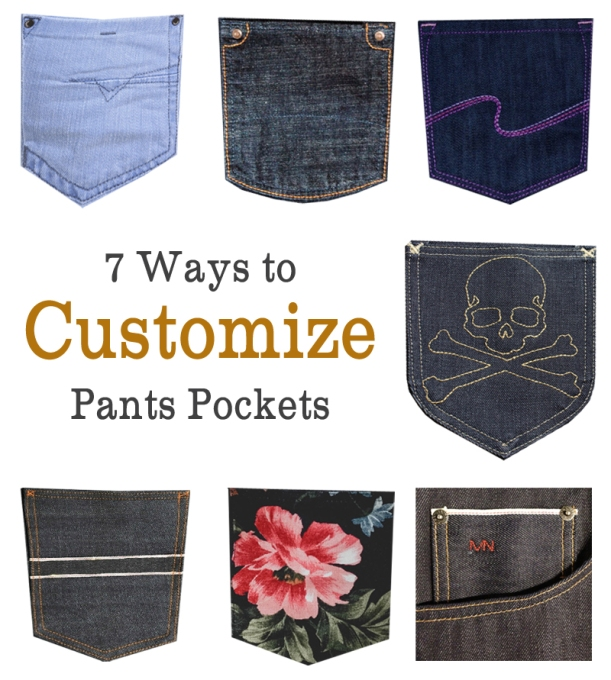 Customize Pants Pockets
