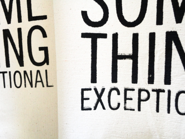 Super fuzzy text while screen printing | Thread Theory