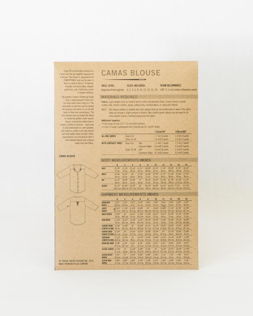 Camas Blouse back | Thread Theory