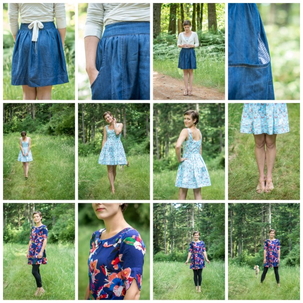 Spring Wardrobe - dresses and skirts