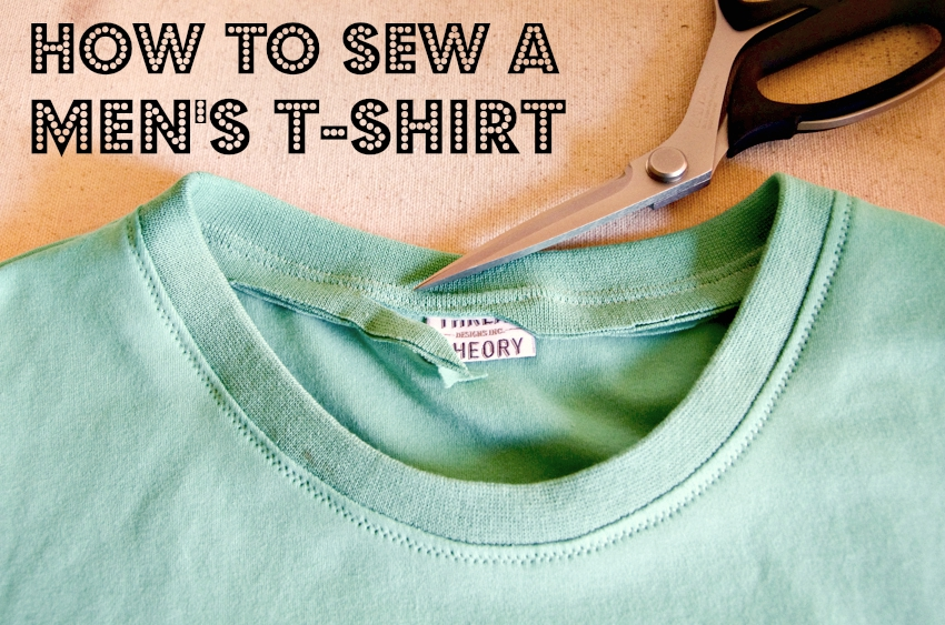 Thread Theory How to Sew a Men's T-shirt