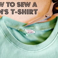 How to Sew a Men's T-shirt