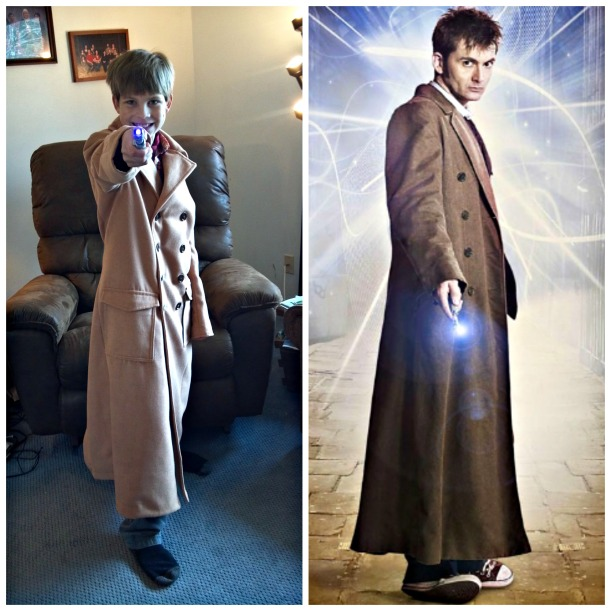 10th Dr Who Goldstream Peacoat