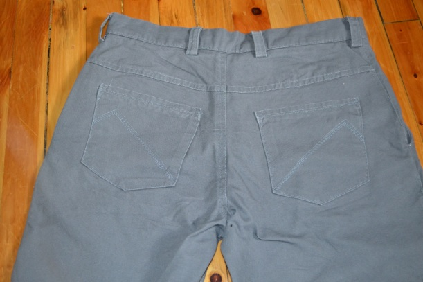 Jedediah Pants with decorative topstitching