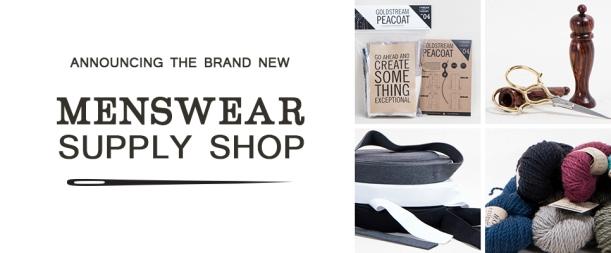 Menswear Supply Shop Announcement - Thread Theory