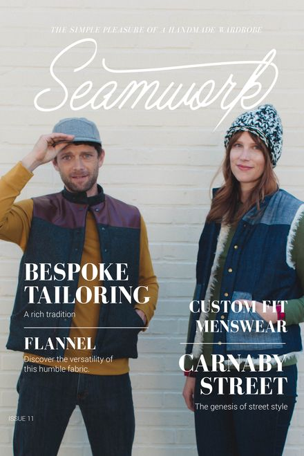 Seamwork Menswear Issue