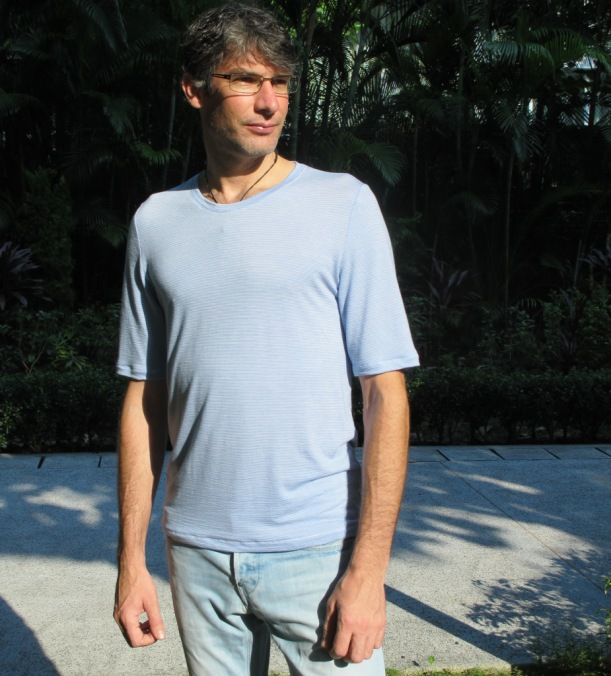 Strathcona with lengthened t-shirt sleeves
