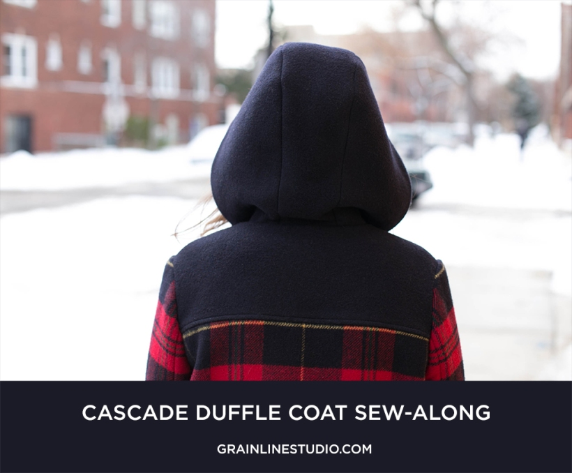 Cascade Coat Sew-along Grainline Studio