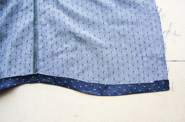 Camas Sew Along Sleeves and Hem-1