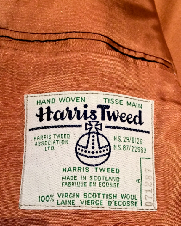 Harris Tweed Repurposed Vest (2 of 26)