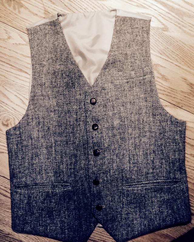 Harris Tweed Repurposed Vest (25 of 26)