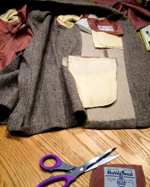 Harris Tweed Repurposed Vest (3 of 26)