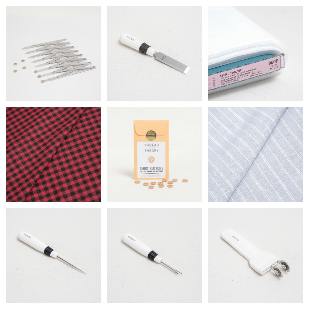 Shirtmaking Supplies