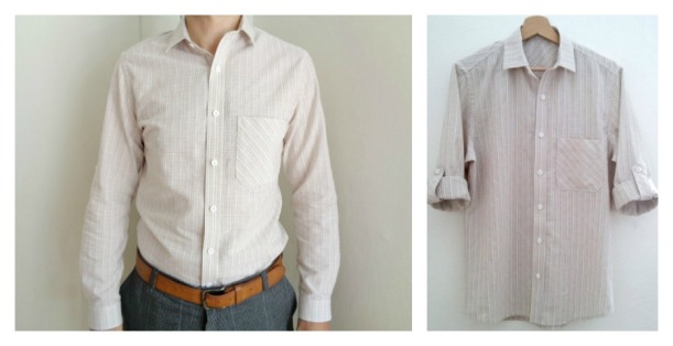 Fairfield Button up featuring sleeve tabs