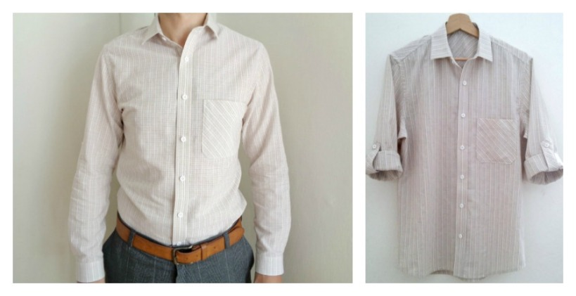 Fairfield Button up featuring sleeve tabs