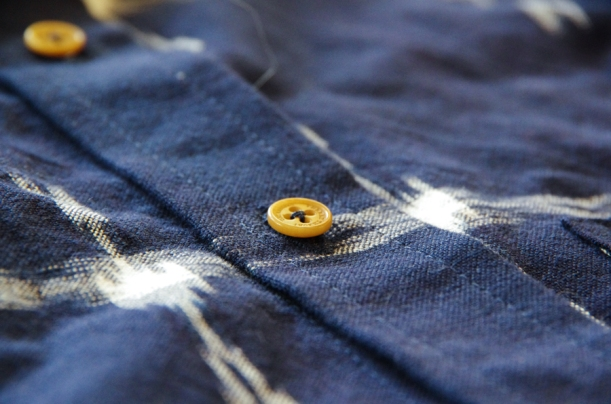 Fairfield Sew Along - add buttons to a shirt-15