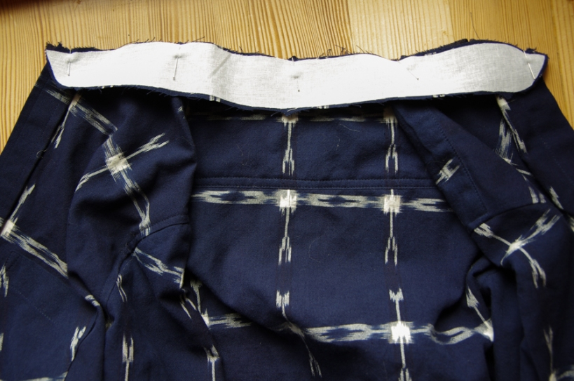 Fairfield Sew Along - sew a shirt collar
