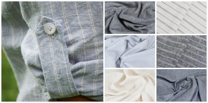Men's shirt fabric
