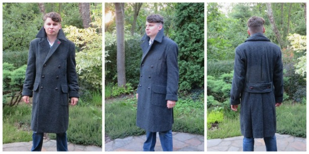 Shelock Coat - the Goldstream Peacoat