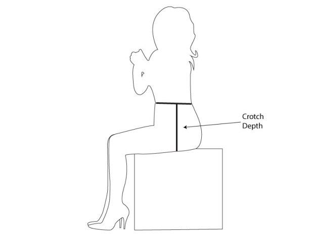 crotch-depth