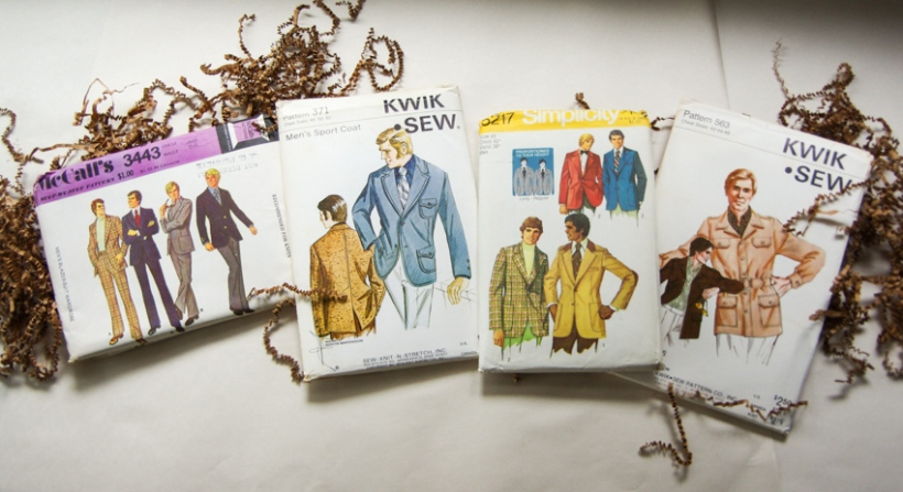 Vintage Sewing Patterns for Men (3)