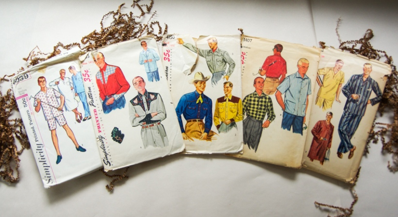 Vintage Sewing Patterns for Men (5)