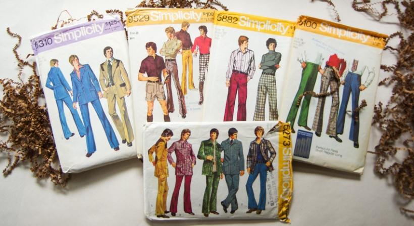 Vintage Sewing Patterns for Men (6)