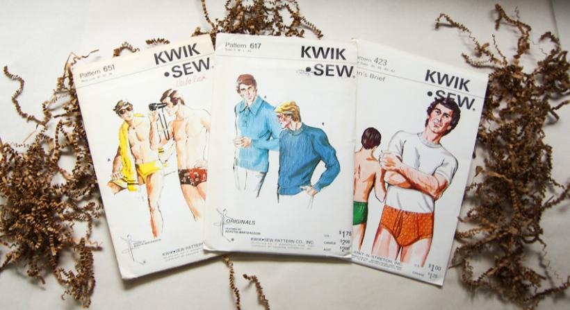Vintage Sewing Patterns for Men (8)