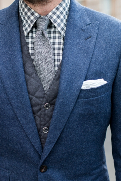 Articles of Style Quilted Waistcoat