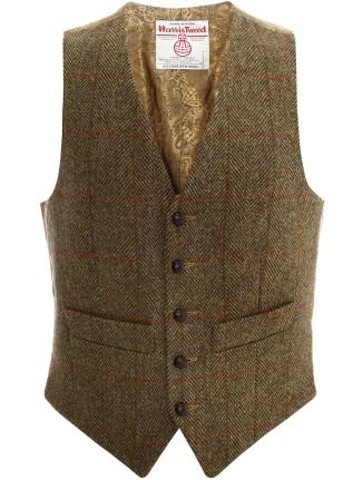 Harris Tweed Waistcoat